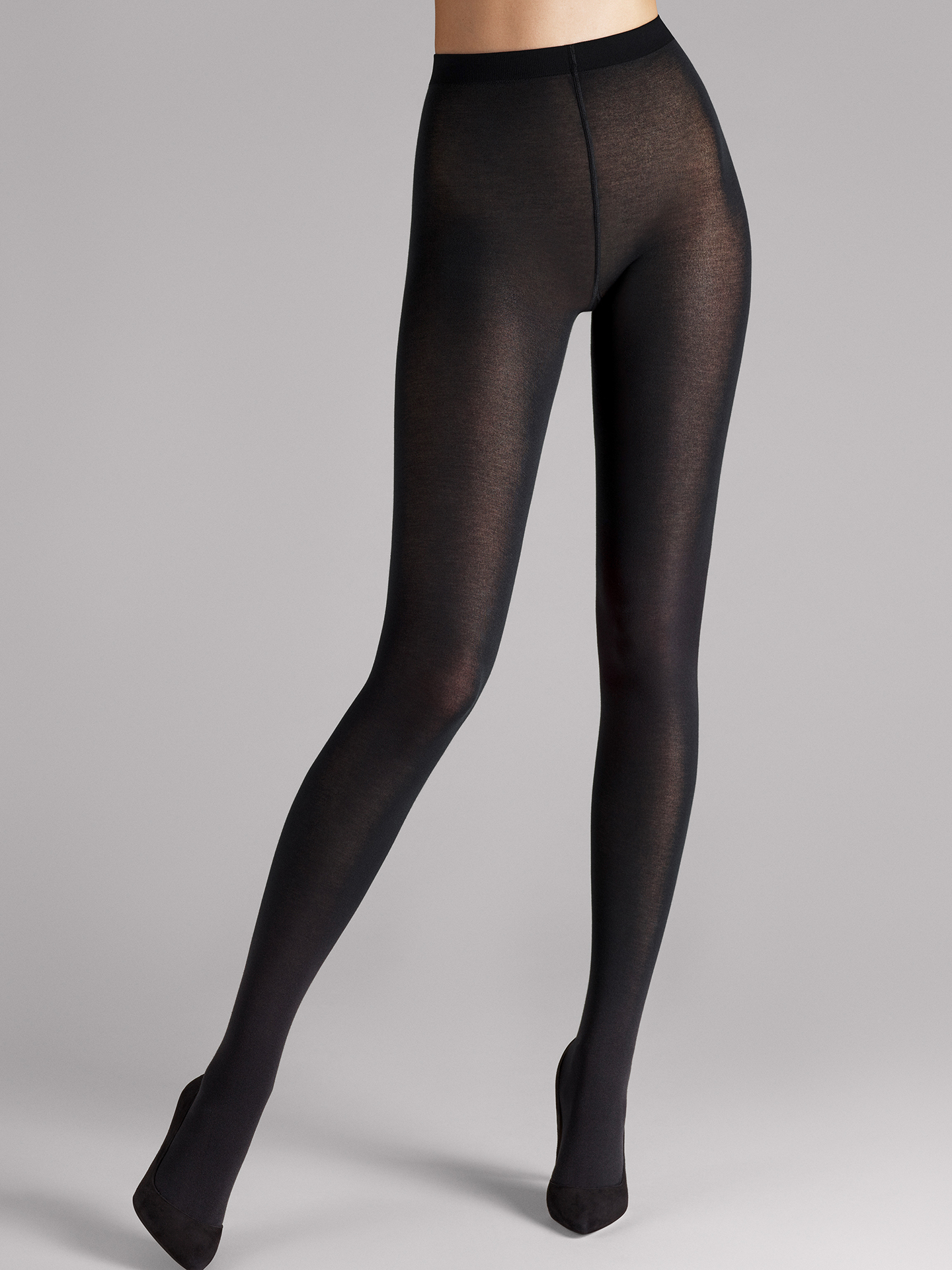 Wolford Apparel & Accessories > Clothing > Collant Cotton Velvet - 7005 - S