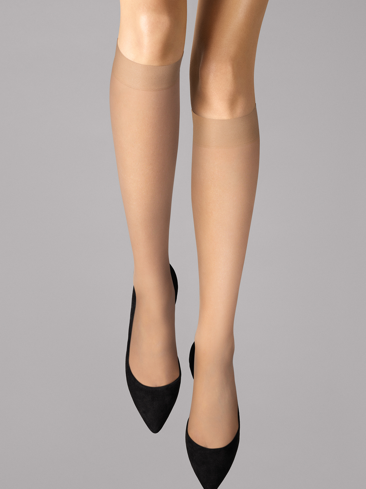 Wolford Apparel & Accessories > Clothing > Gambaletti Individual 10 Knee-Highs - 4738 - S