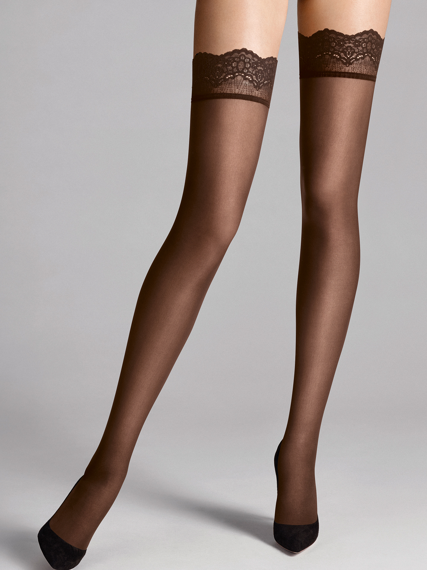 Wolford Apparel & Accessories > Clothing > Autoreggenti & Calze Velvet Light 40 Stay-Up