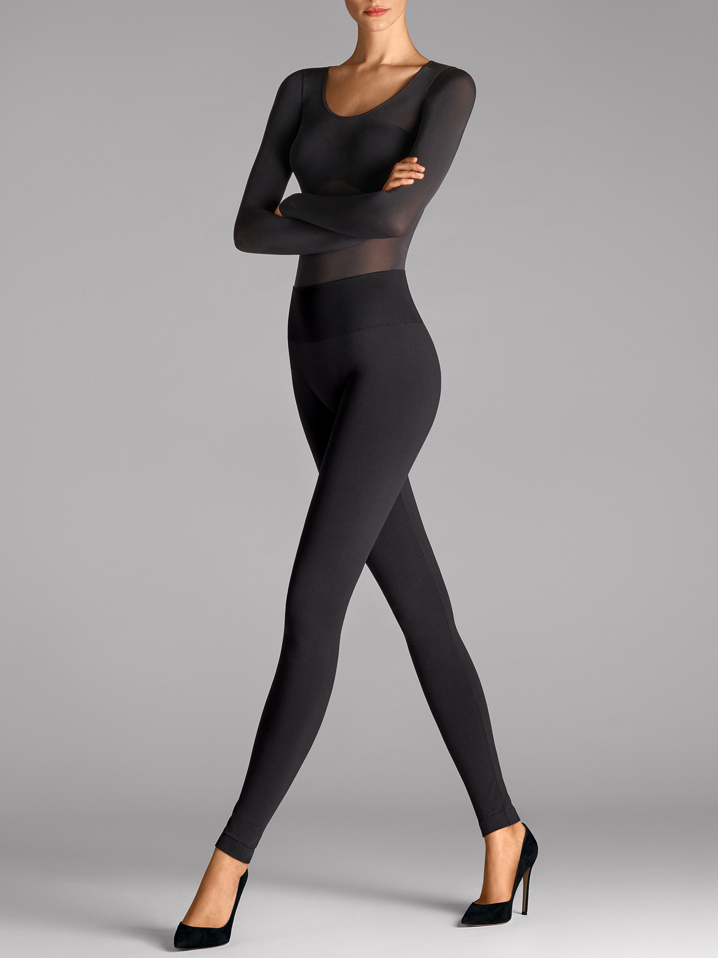 Wolford Apparel & Accessories > Clothing > Leggings Perfect Fit Leggings - 7005 - XL