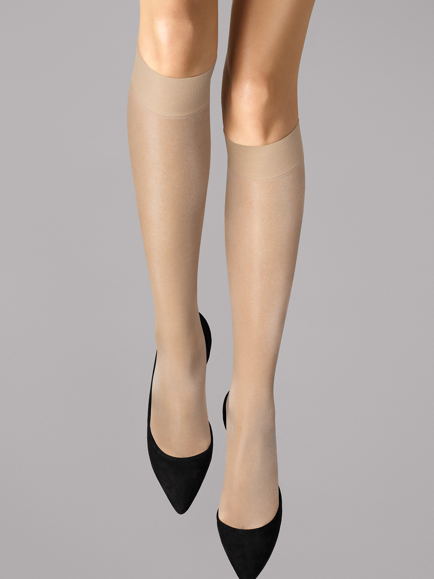 Wolford Apparel & Accessories > Clothing > Gambaletti Satin Touch 20 Knee-Highs - 2401 - S