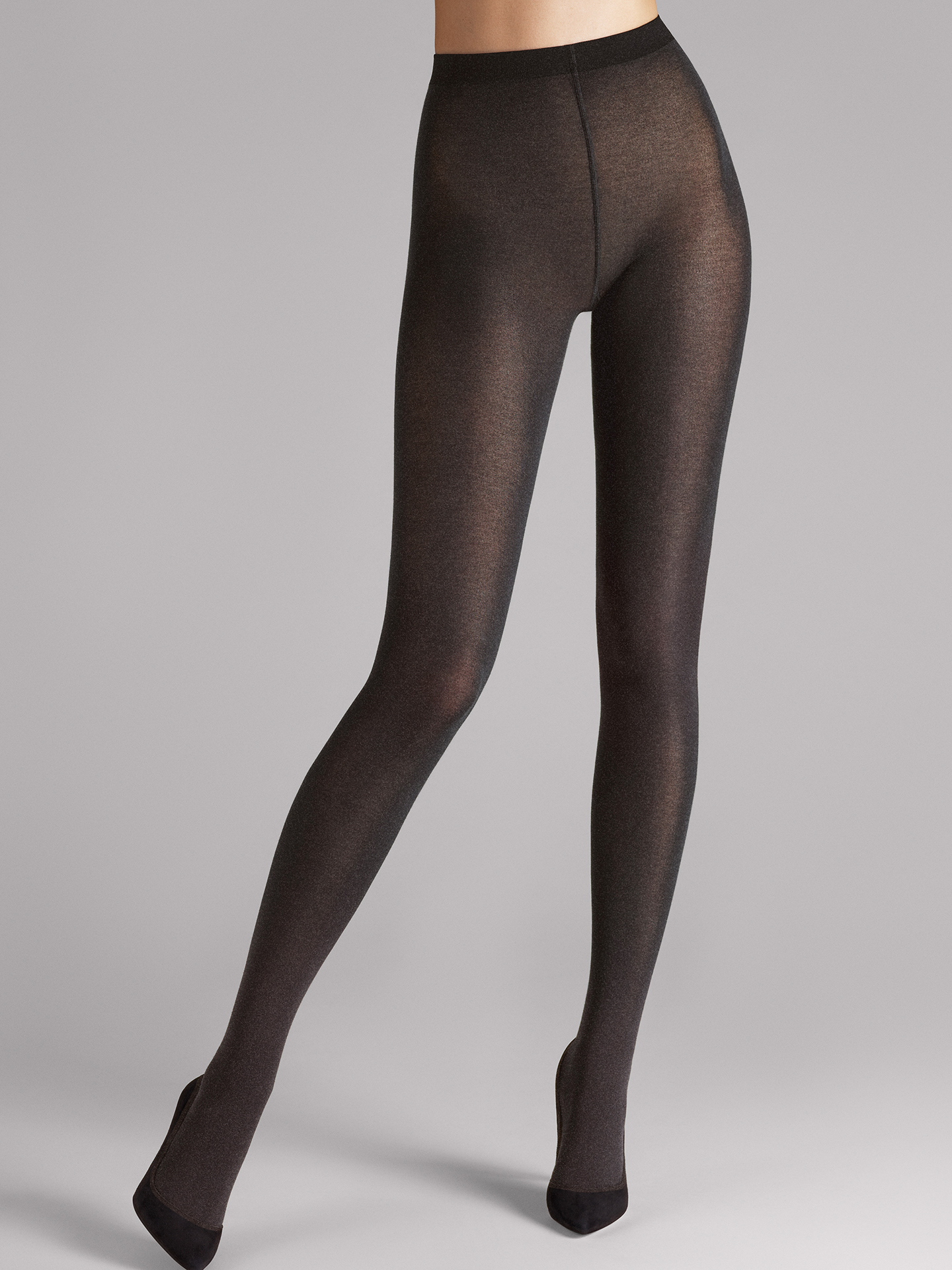 Wolford Apparel & Accessories > Clothing > Collant Cotton Velvet - 9274 - M