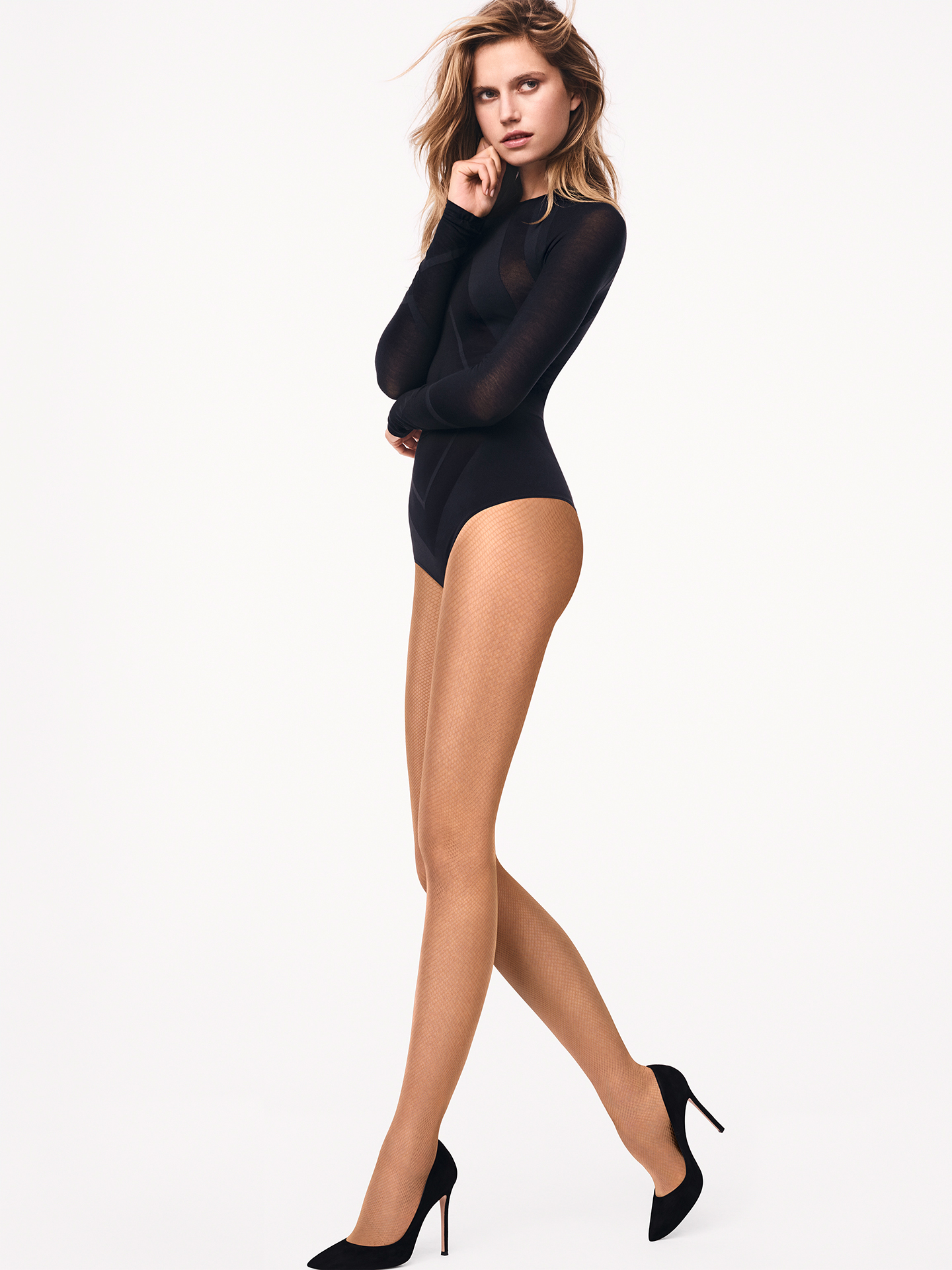Wolford Apparel & Accessories > Clothing > Calze a rete Twenties Tights