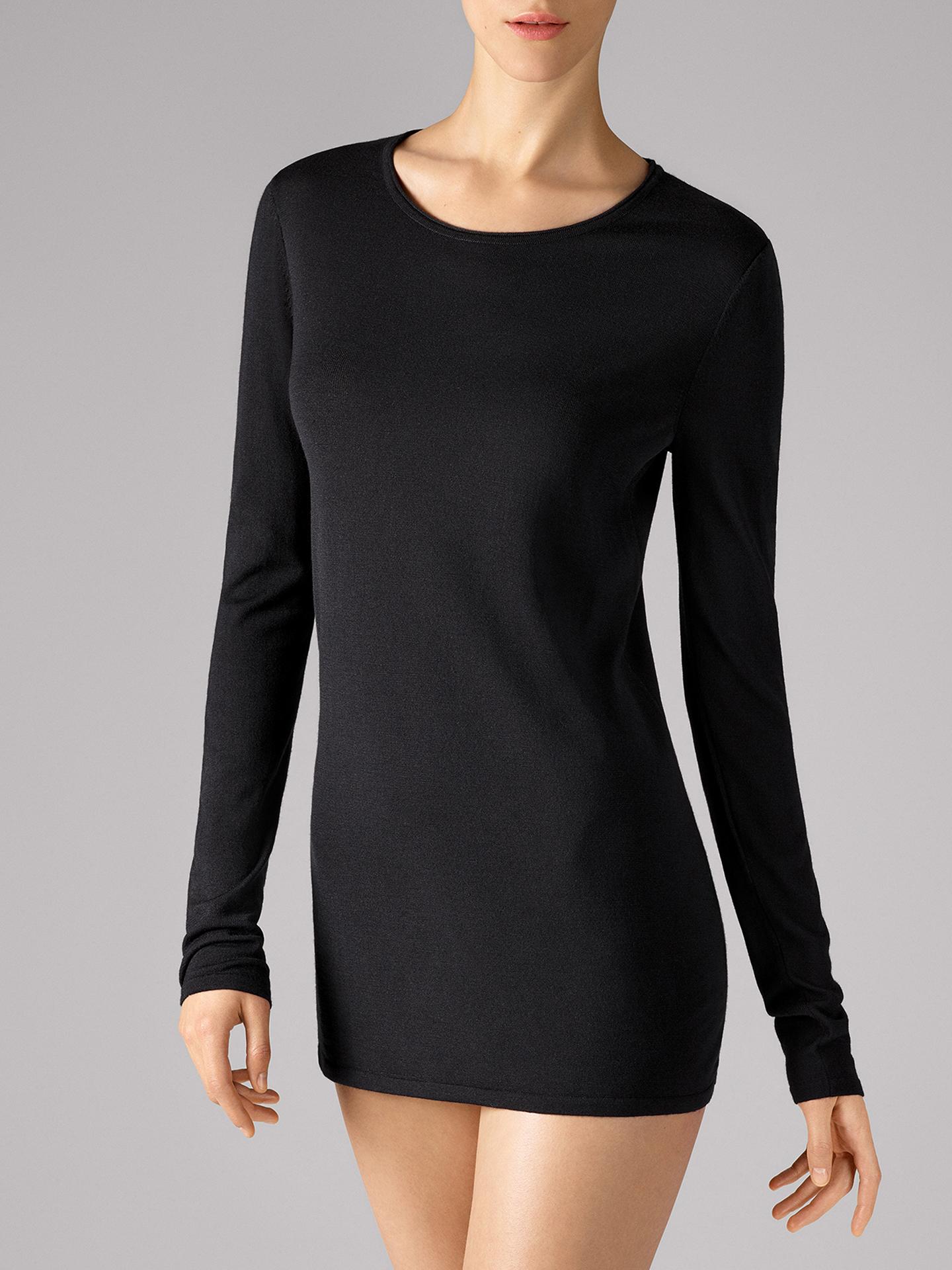 Wolford Apparel & Accessories > Clothing > Abbigliamento Donna Fine Merino Pullover