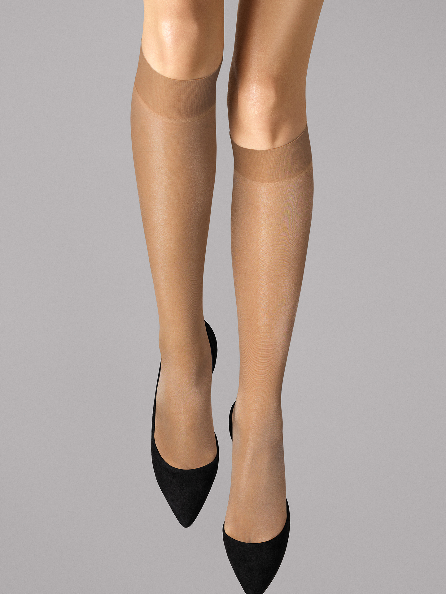 Wolford Apparel & Accessories > Clothing > Gambaletti Satin Touch 20 Knee-Highs - 4004 - S