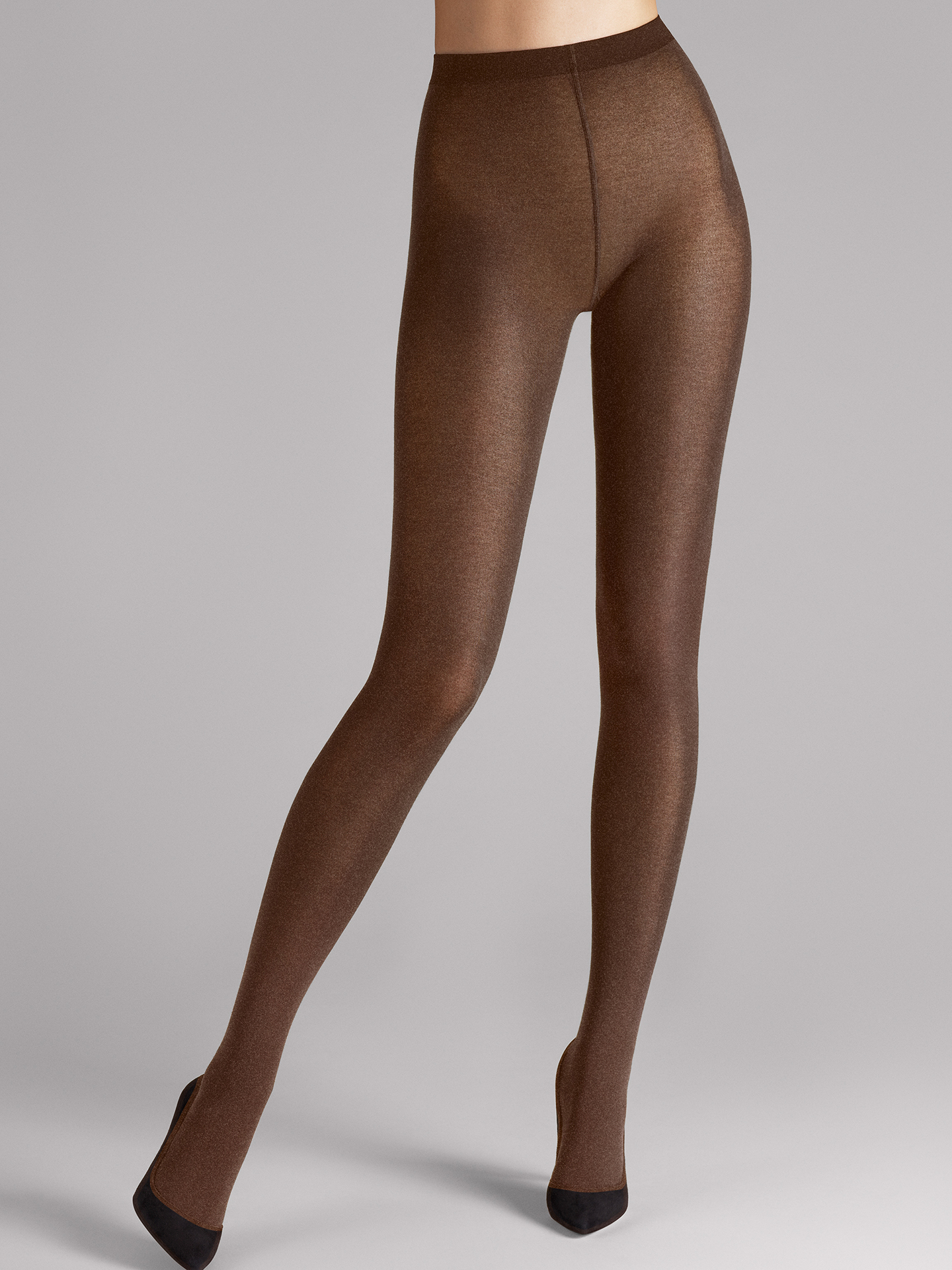 Wolford Apparel & Accessories > Clothing > Collant Cotton Velvet - 9287 - S