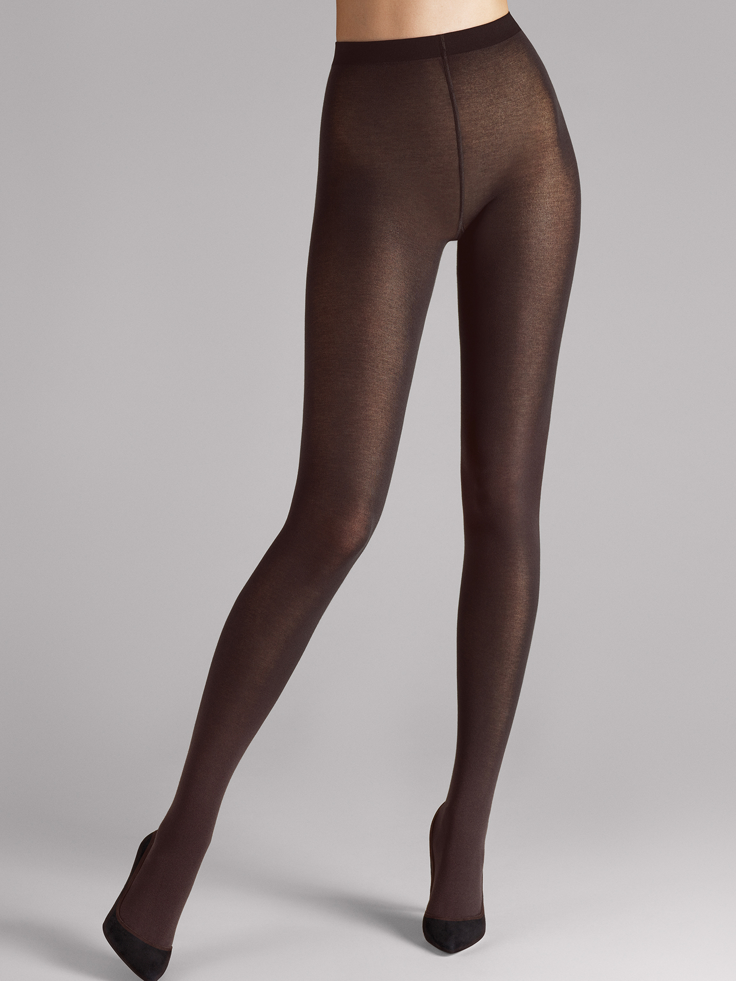 Wolford Apparel & Accessories > Clothing > Collant Cotton Velvet - 4250 - XS