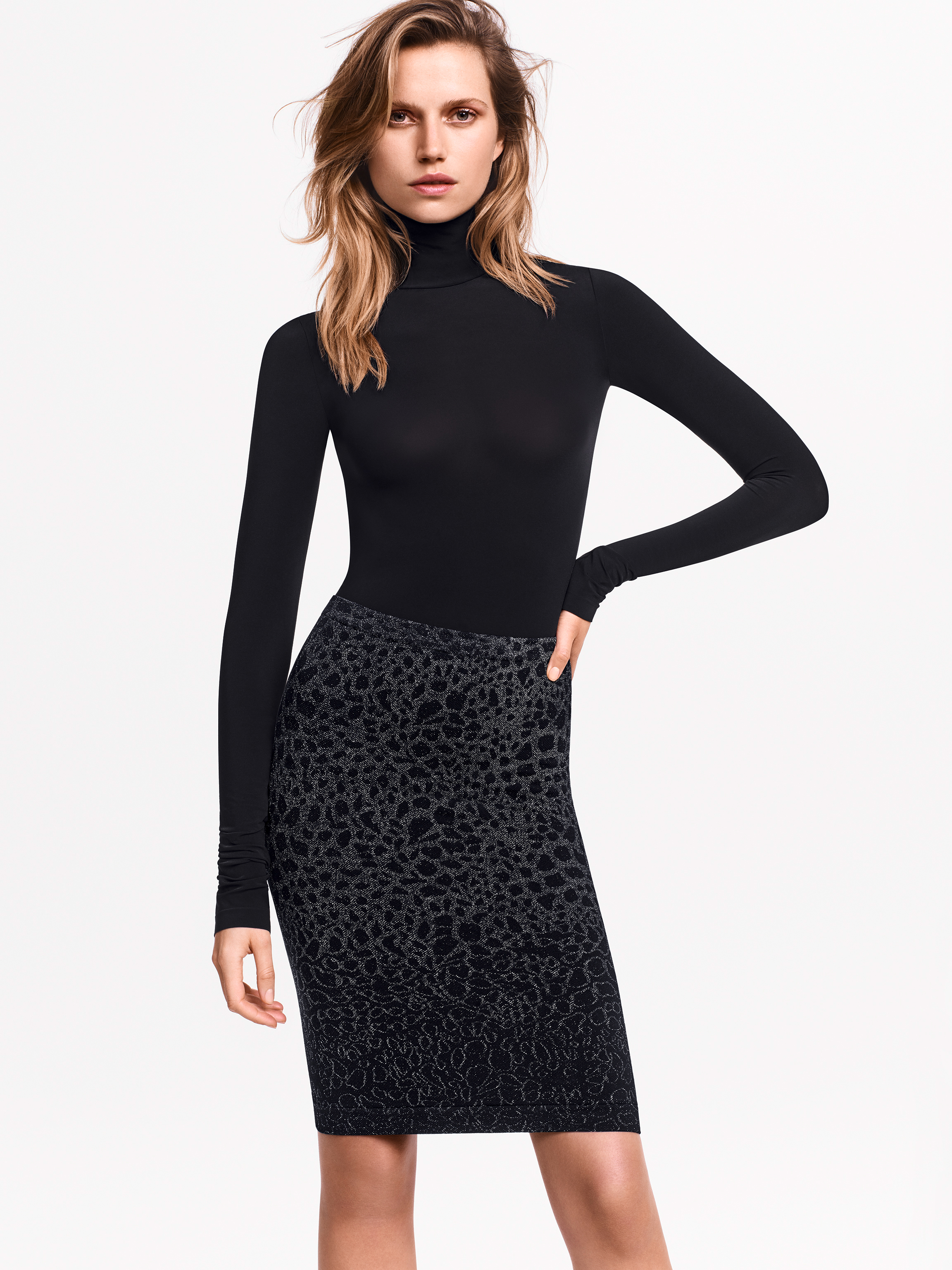 Wolford Apparel & Accessories > Clothing > Abbigliamento Donna Ashley Skirt - 7124 - M