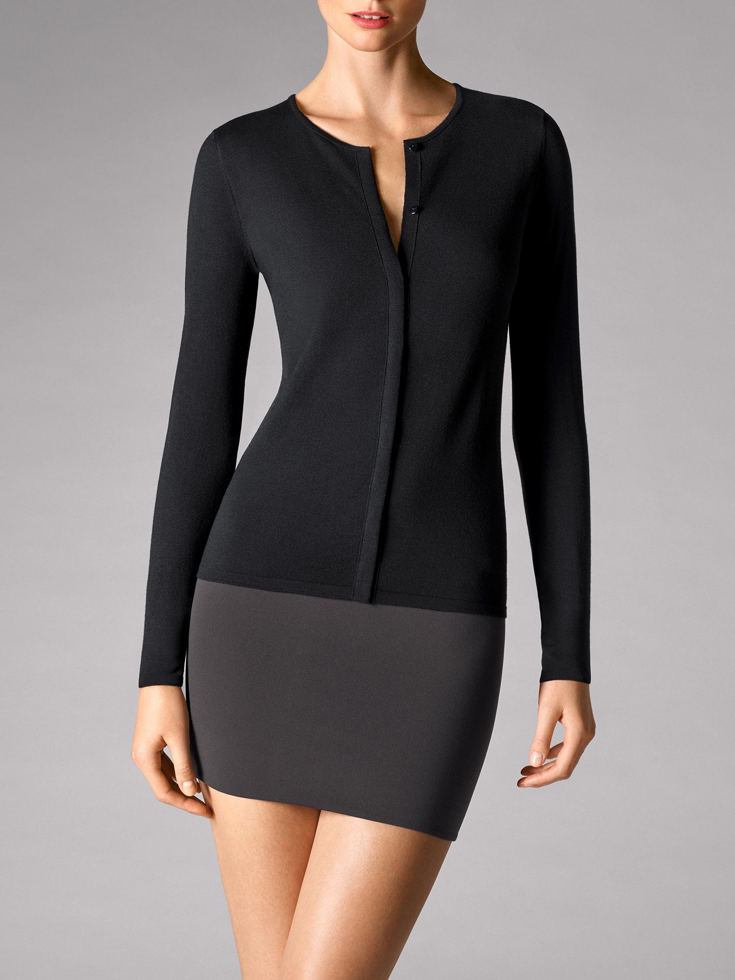 Wolford Apparel & Accessories > Clothing > Abbigliamento Donna Fine Merino Cardigan