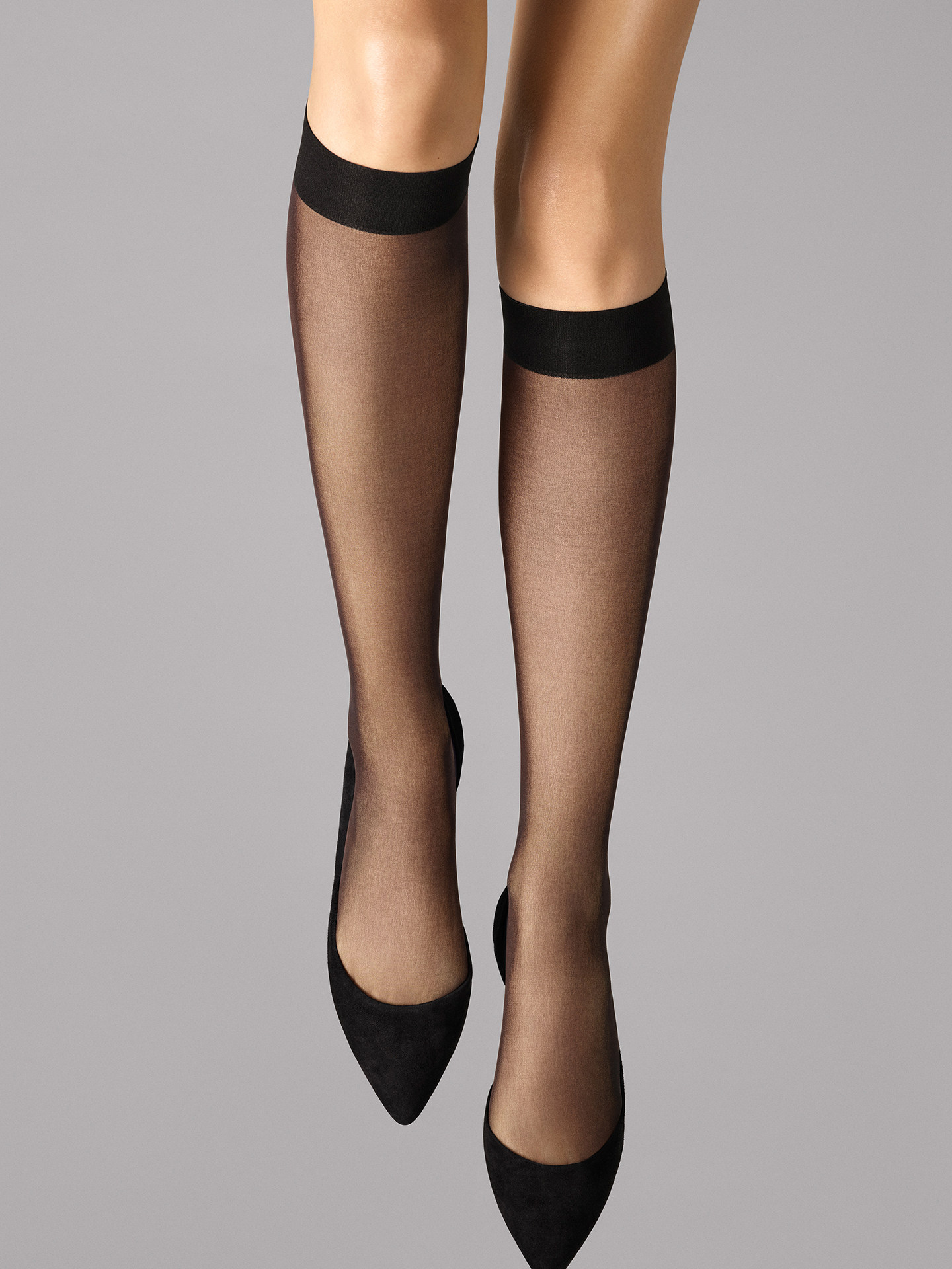 Wolford Apparel & Accessories > Clothing > Gambaletti Individual 10 Knee-Highs - 7005 - M