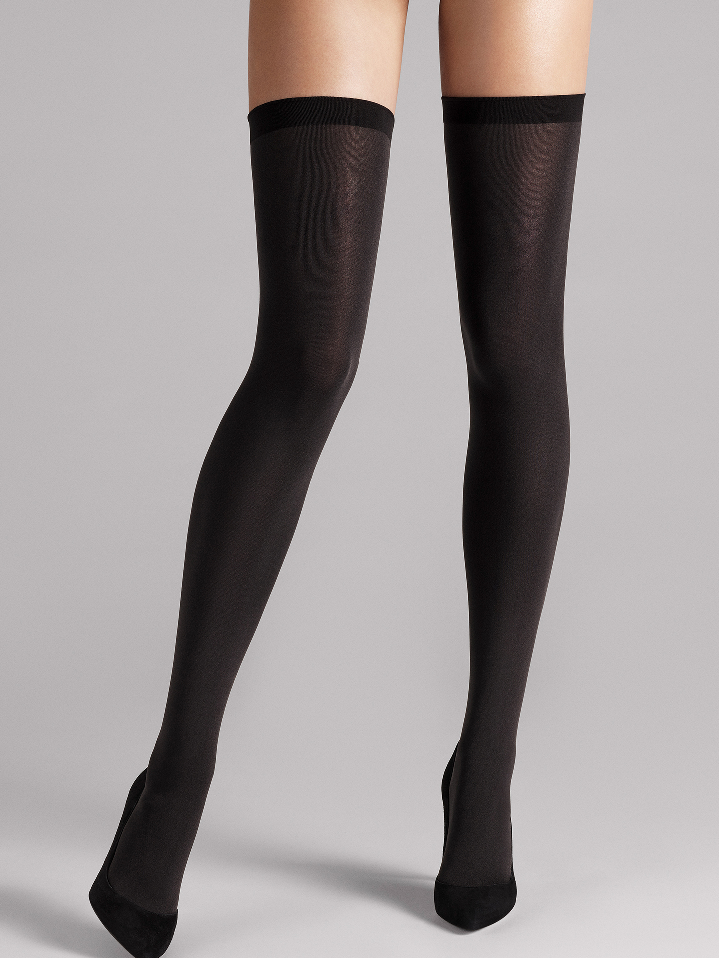 Wolford Apparel & Accessories > Clothing > Autoreggenti & Calze Fatal 80 seamless Stay-Up