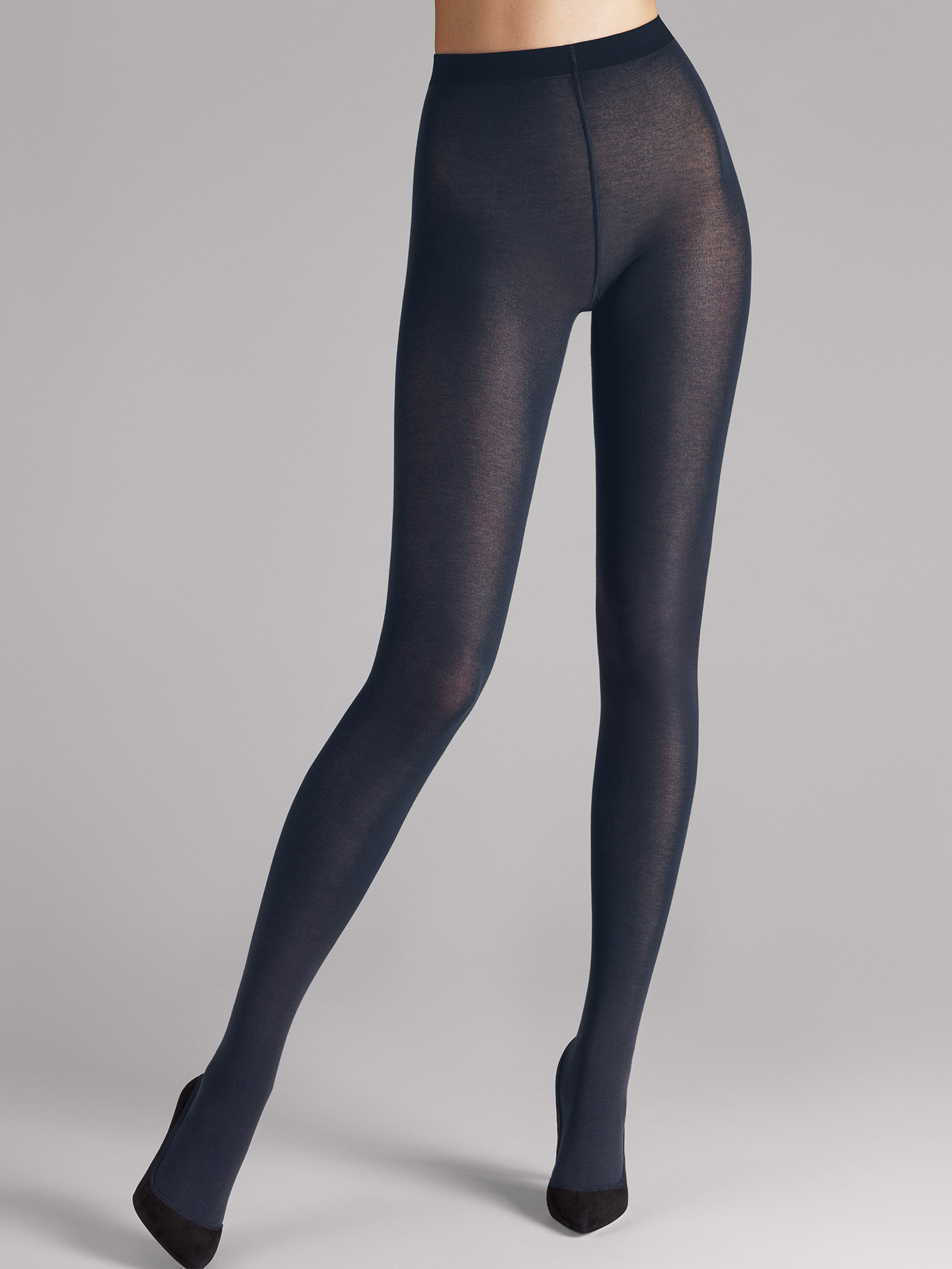 Wolford Apparel & Accessories > Clothing > Collant Cotton Velvet - 5280 - XS