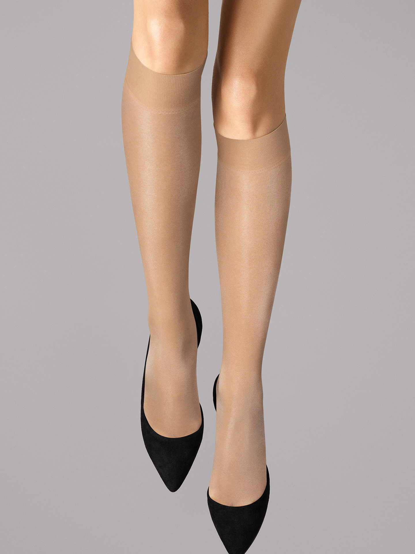 Wolford Apparel & Accessories > Clothing > Gambaletti Satin Touch 20 Knee-Highs - 4738 - M