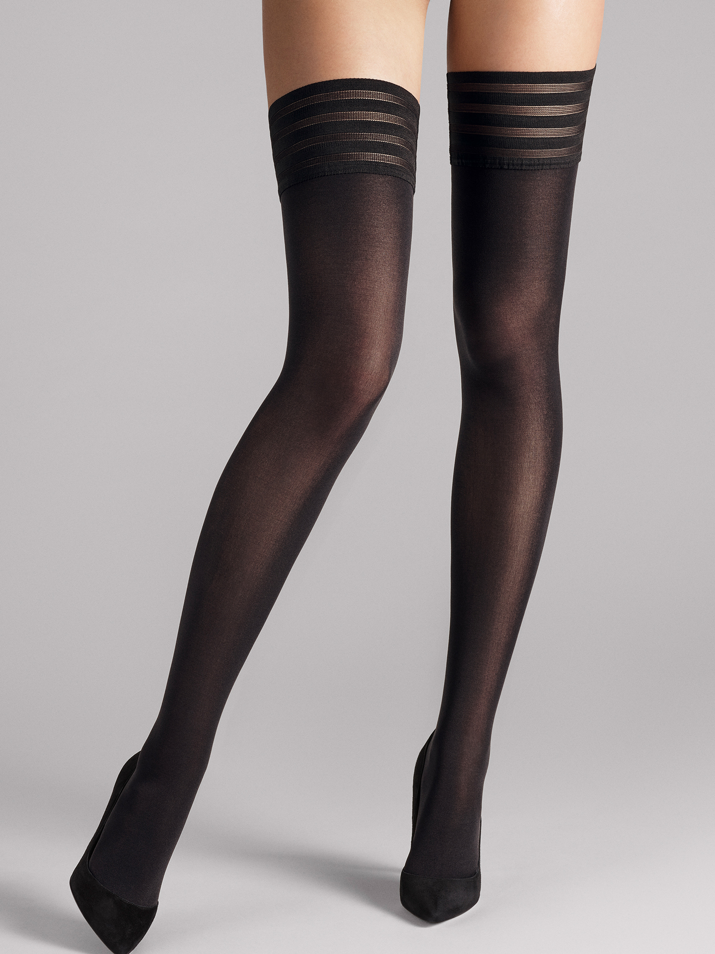 Wolford Apparel & Accessories > Clothing > Autoreggenti & Calze Velvet de Luxe 50 Stay-Up