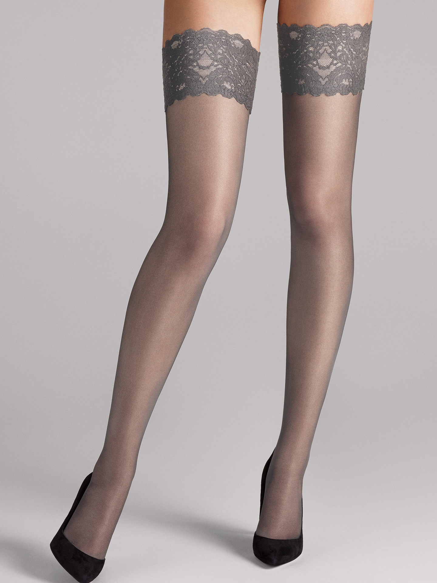 Wolford Apparel & Accessories > Clothing > Autoreggenti & Calze Satin Touch 20 Stay-Up - 7314 - XS