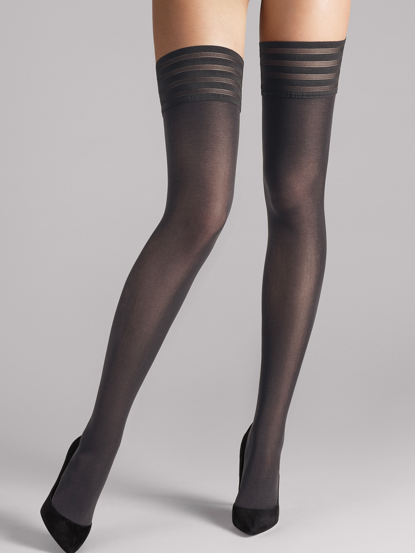 Wolford Apparel & Accessories > Clothing > Autoreggenti & Calze Velvet de Luxe 50 Stay-Up - 7221 - XS