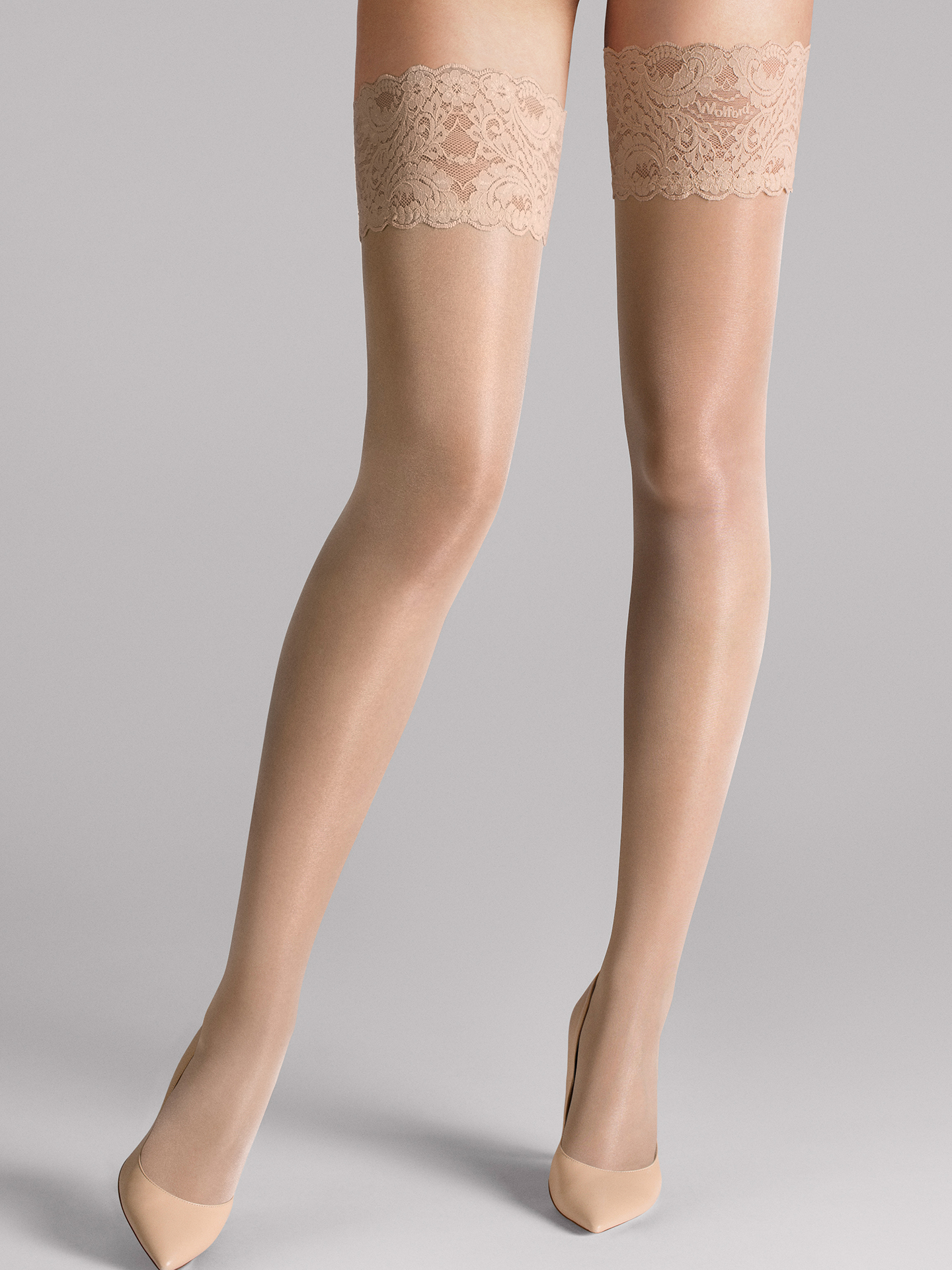 Wolford Apparel & Accessories > Clothing > Autoreggenti & Calze Satin Touch 20 Stay-Up - 4273 - S