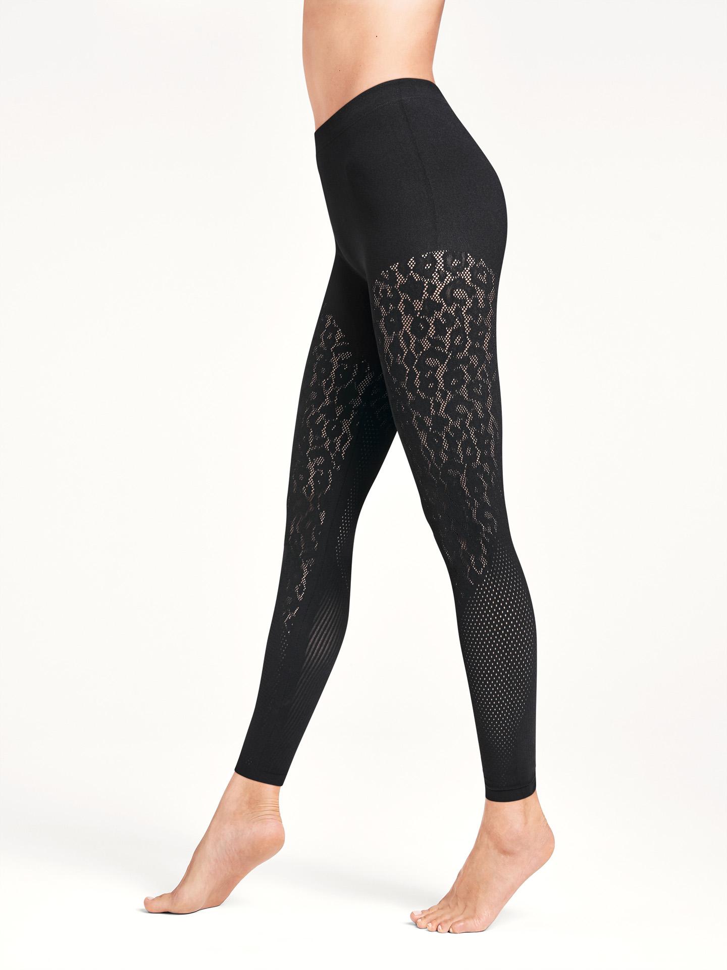 Wolford Apparel & Accessories > Clothing > ATH_W Cheetah Net Leggings
