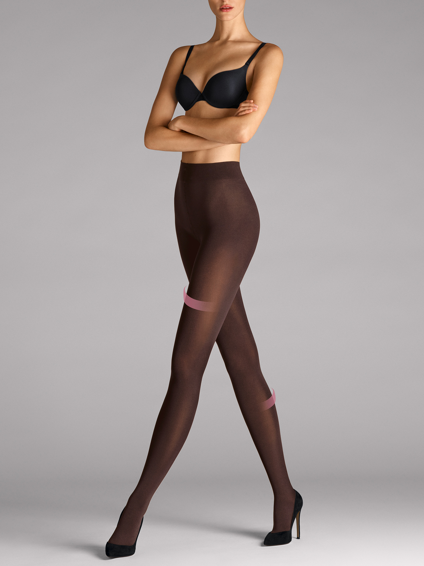 Wolford Apparel & Accessories > Clothing > Collant Velvet 66 leg support Tights - 4250 - S