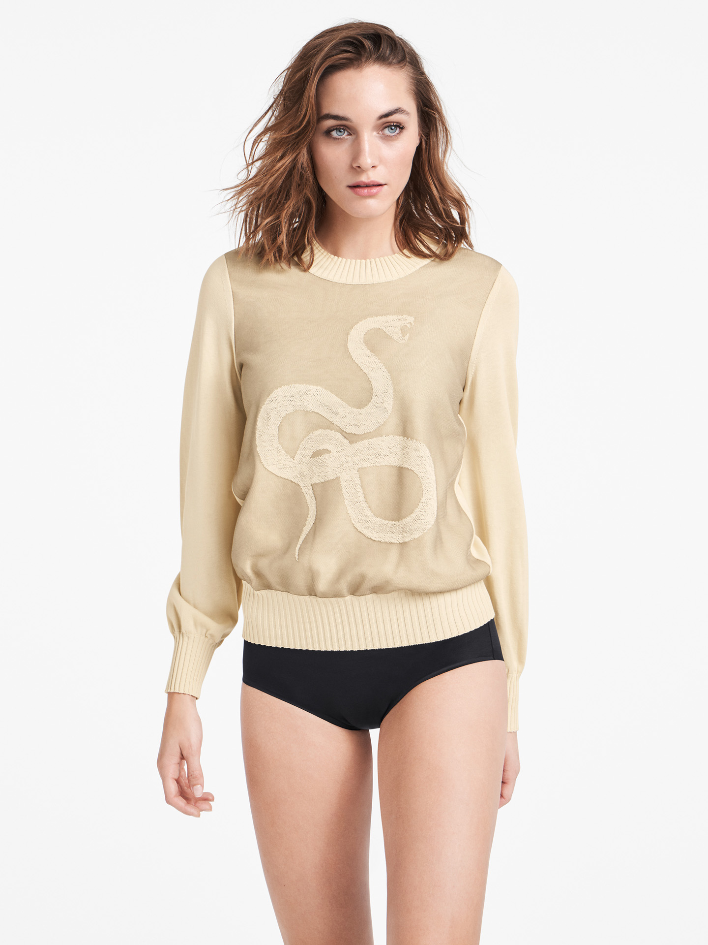 Wolford Apparel & Accessories > Clothing > Abbigliamento Donna Countershade Pullover