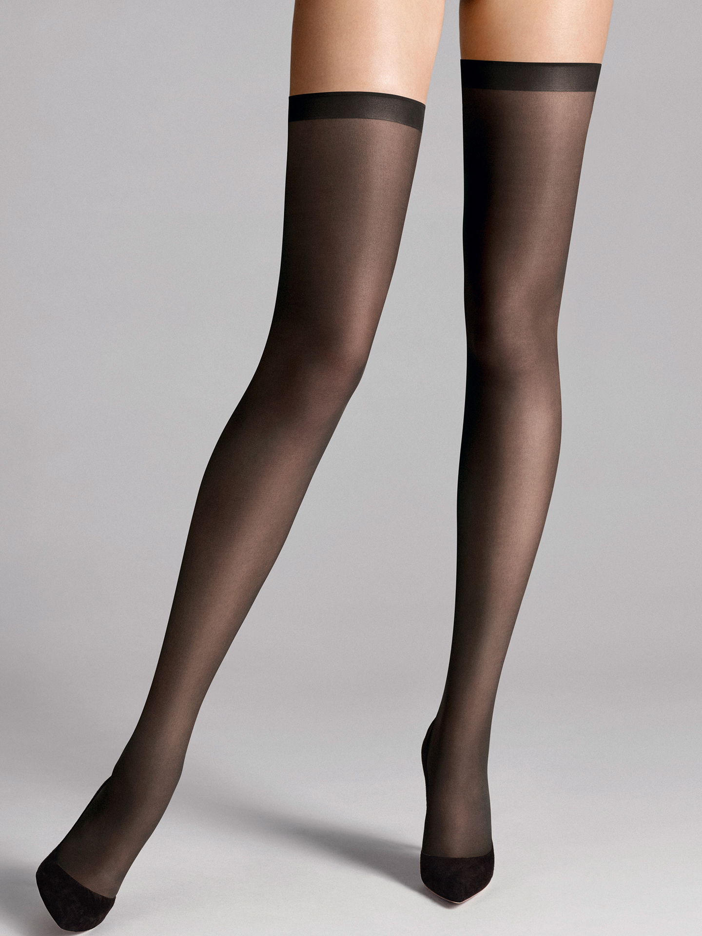 Wolford Apparel & Accessories > Clothing > Autoreggenti & Calze Fatal 15 seamless Stay-Up
