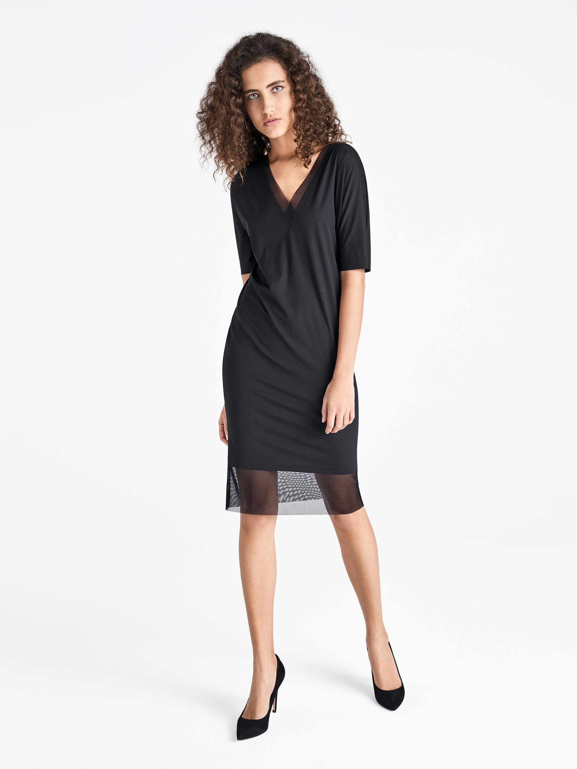 Wolford Apparel & Accessories > Clothing > Abbigliamento Donna Pure Tulle Dress