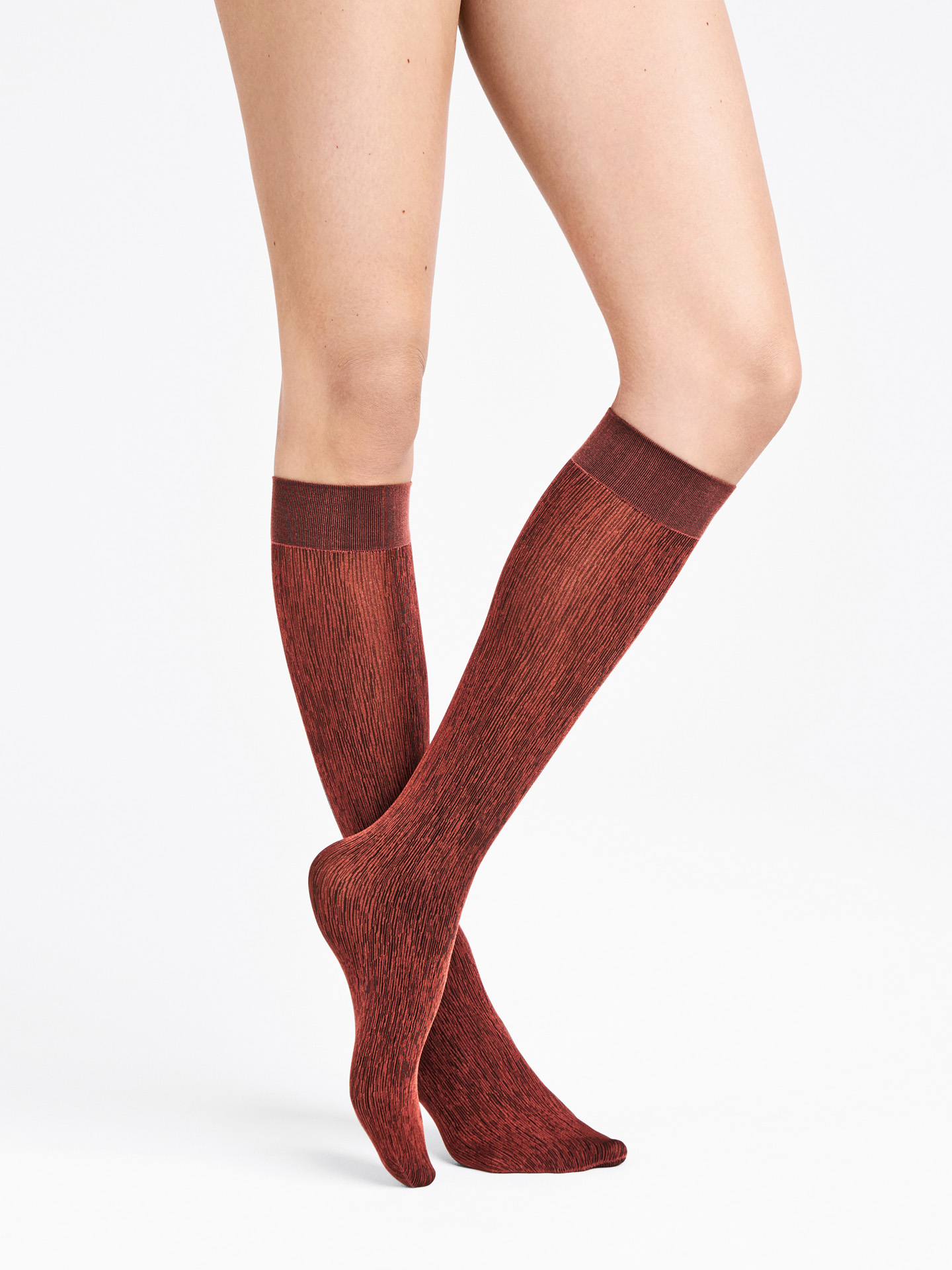 Wolford Apparel & Accessories > Clothing > Calze e Collant Amazonian Poison Knee-Highs