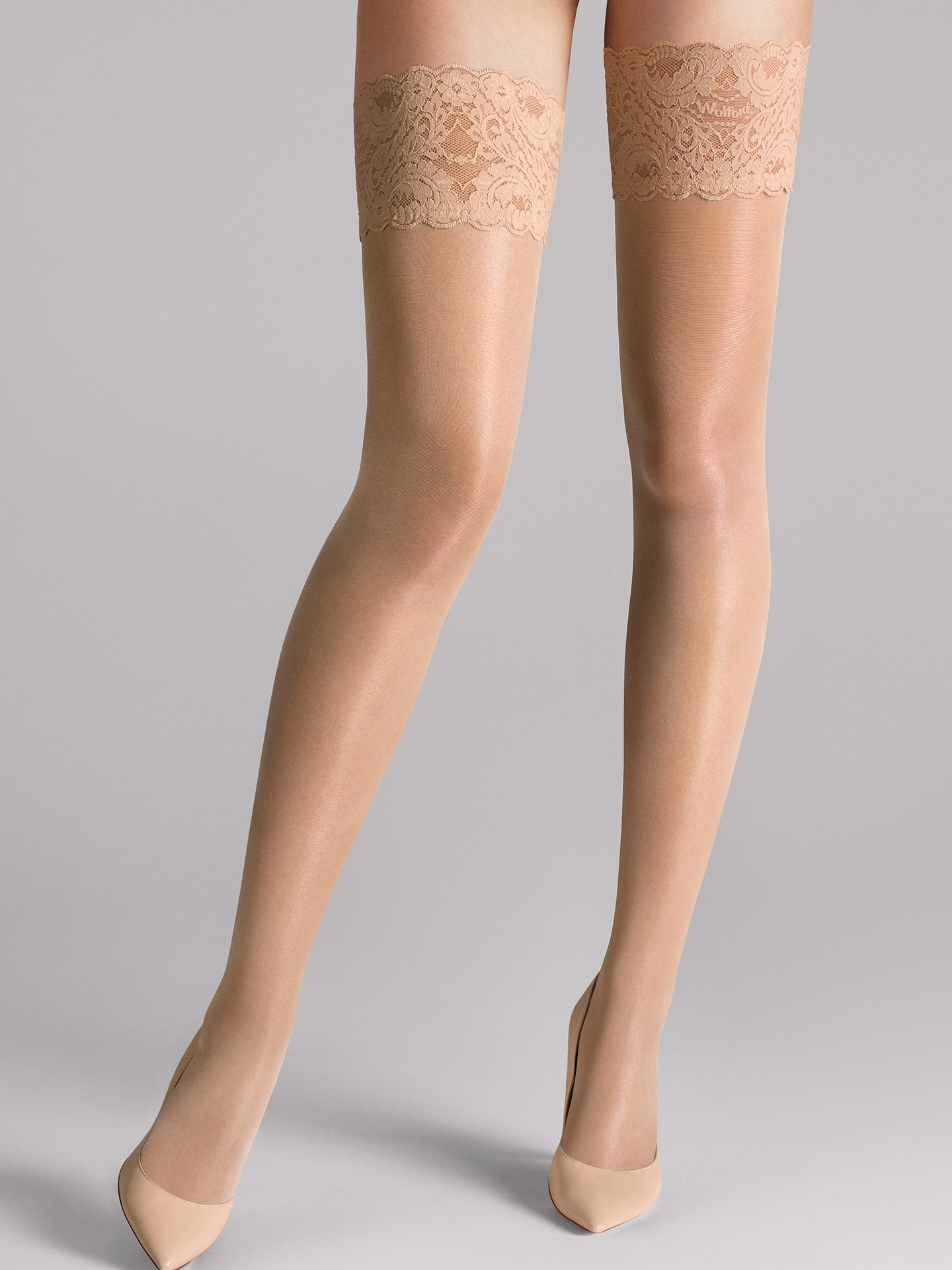 Wolford Apparel & Accessories > Clothing > Autoreggenti & Calze Satin Touch 20 Stay-Up - 4738 - L